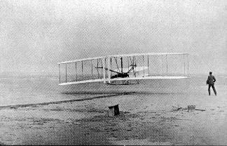 essay first flight The wright brothers flight machine aircraft history this essay has been their dream turned into reality in 1903 when the first flight machine or an.